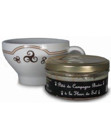 Pâté de campagne breton à la fleur de sel 145g