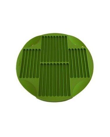 Moule à 30 sticks en silicone vert Lékué