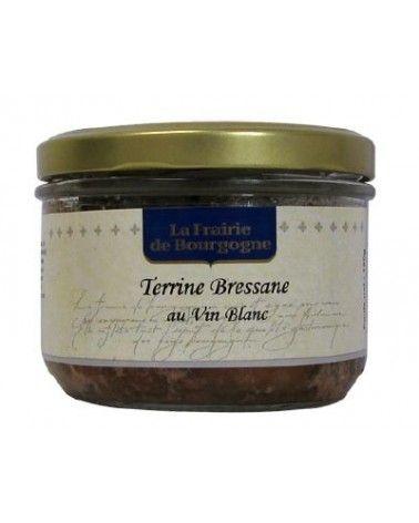 Terrine Bressane au vin blanc 180g