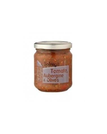 """Recette Sofregit  Tomates, Aubergines et Olives""""180g"""