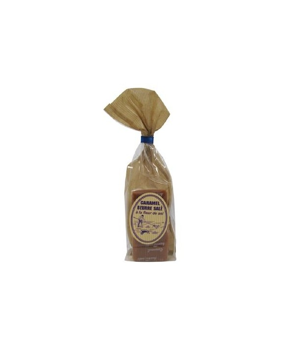 Sachet 13 bouchées caramel fleur de sel 150g