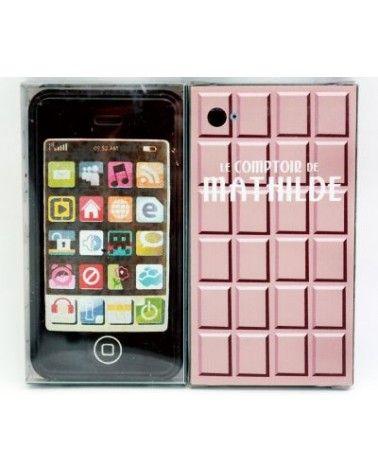 Smartphone en chocolat noir 70g