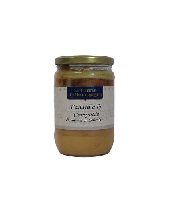 Canard à la compotée de pommes du Calvados 600g