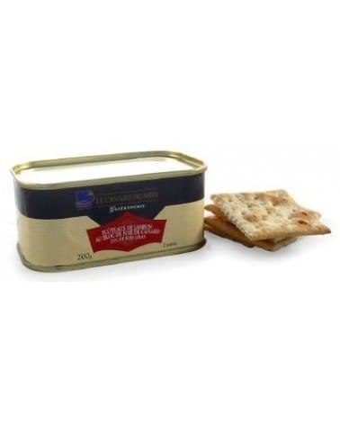 Flûteaux de jambon au bloc de foie gras de canard du Sud Ouest 25% 200g