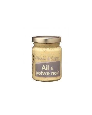 Velours de crème ail et poivre noir 95g