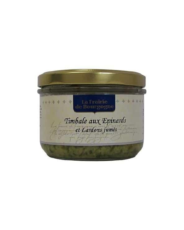 Timbale aux épinards et lardons fumés 180g
