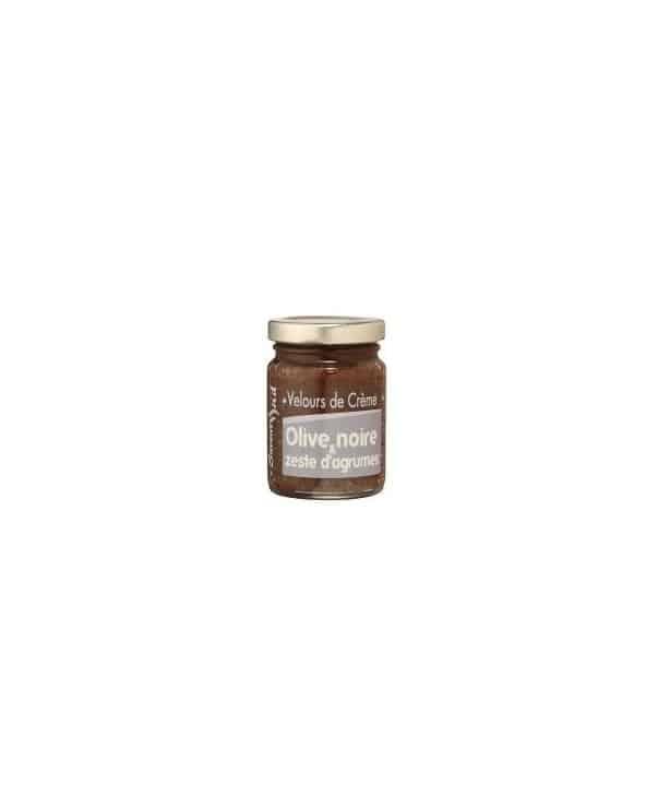 Velours de crème olive noire et zestes d'agrumes 95g