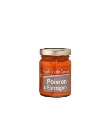 Velours de crème poivron et estragon 95g