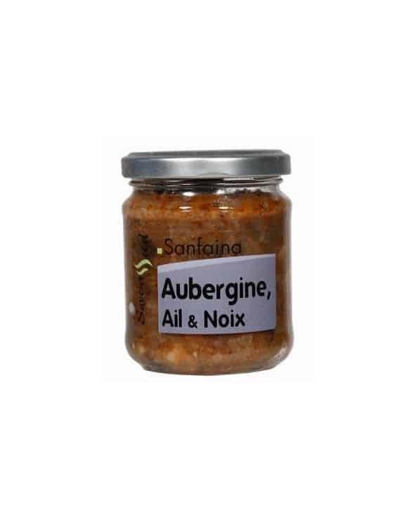 """Recette Sanfaina """"Aubergine, ail et noix """"180g"""