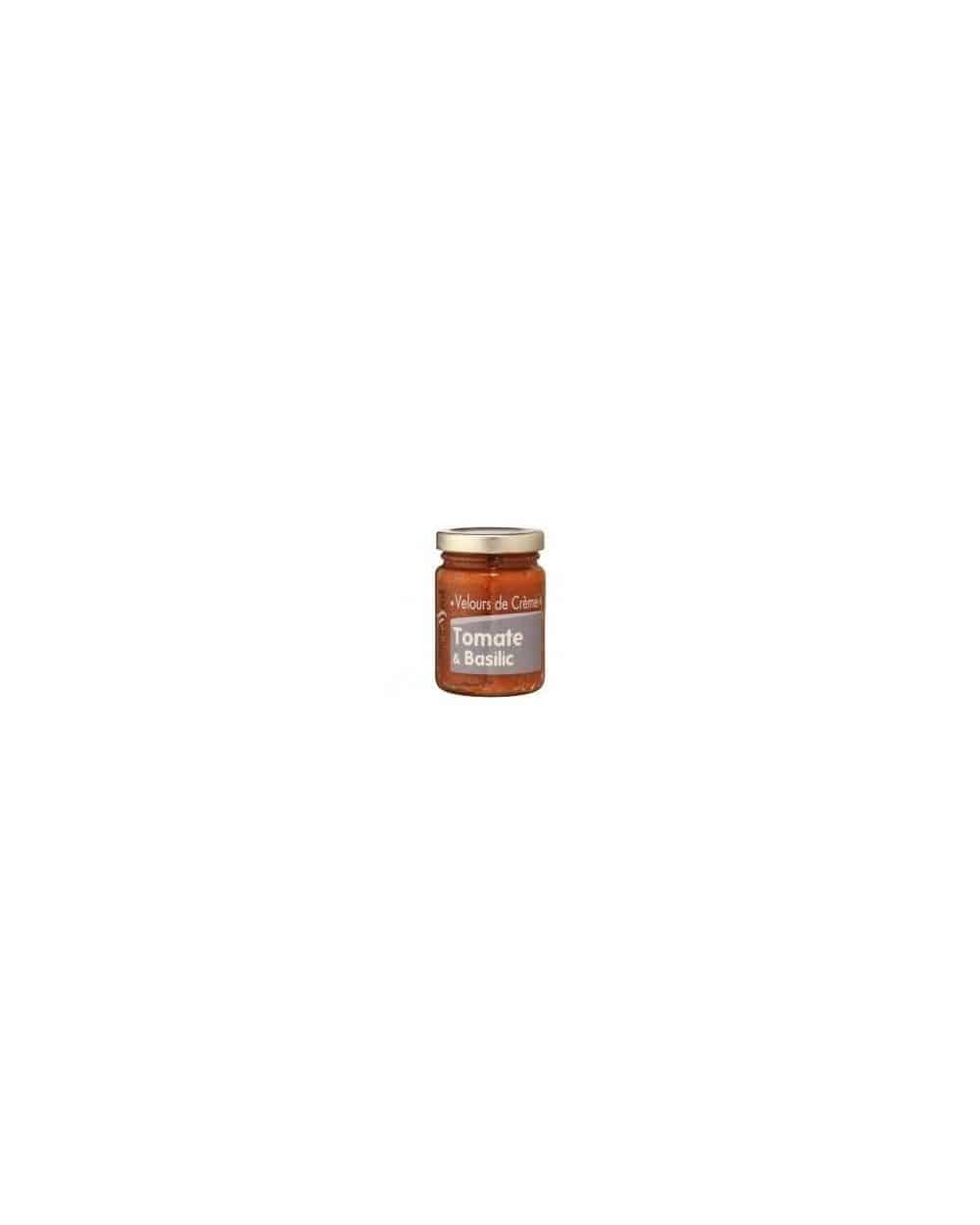 Velours de crème tomate et basilic 95g