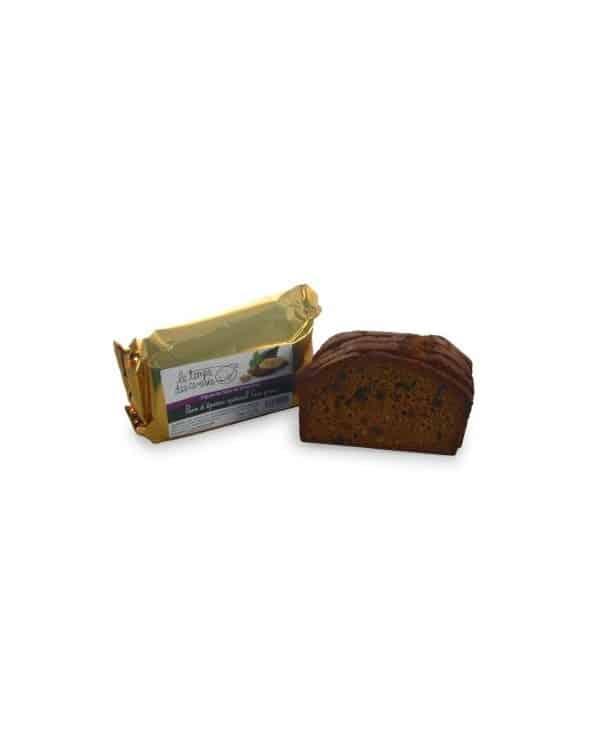 Pain d'épices Figues Noix Spécial foie gras 210g