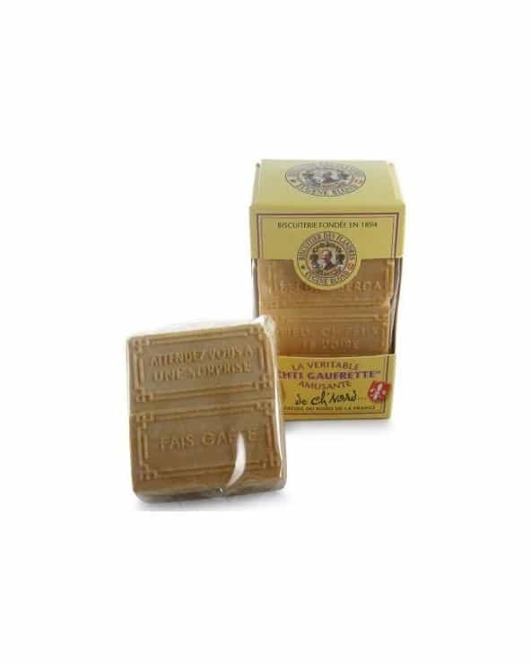 CHTI Gaufrette amusante fourrées à la vanille 175g