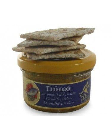 Thoïonade au piment d'Espelette et tomates séchées 90g