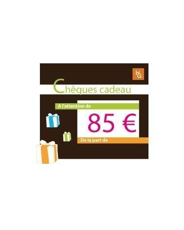 Chèque cadeau 85 euros