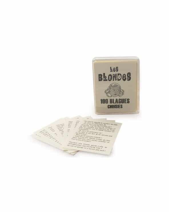 """Les Blondes """"100 blagues"""""""