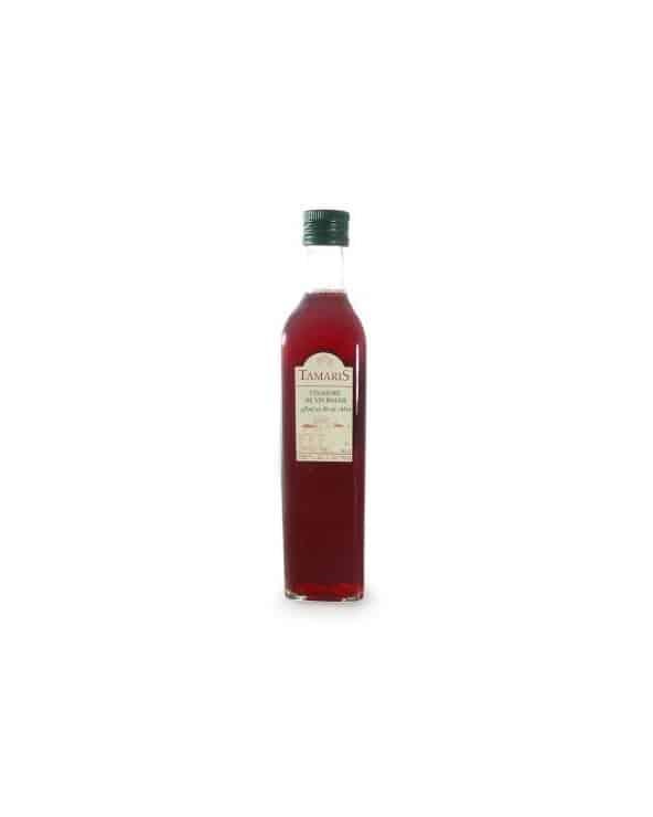 Vinaigre de vin rouge affiné en fût de chêne 50cl