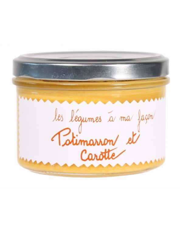 """Potimarron et carotte """"Les légumes à ma façon"""" 200g"""