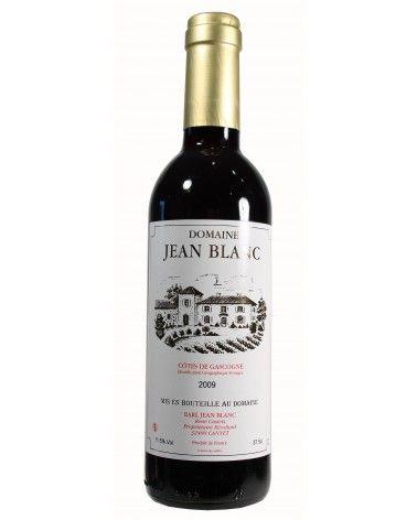 "Vin rouge ""Jean Blanc"" 37.5cl 2009"