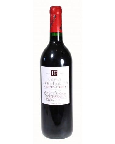 """Vin rouge """"Château des Hauts de Fontaneau 2008"""" 75cl"""