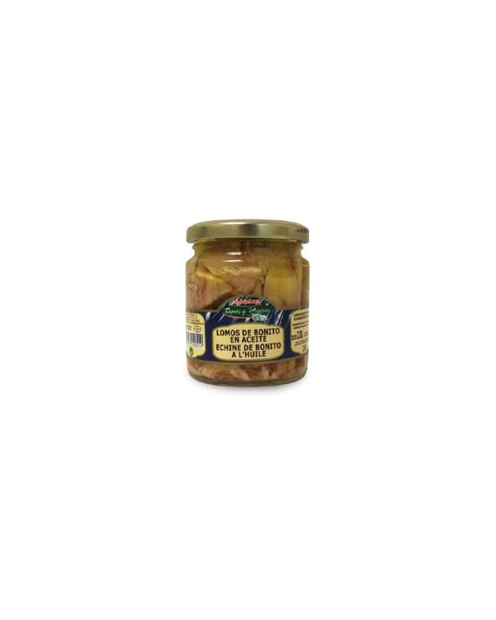 Echine de Bonito à l'huile d'olive 220g