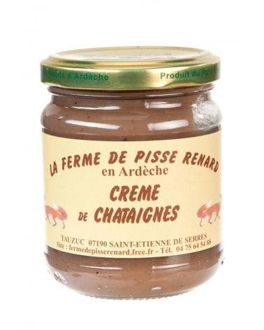 Crème de châtaignes bio d'Ardèche 250g