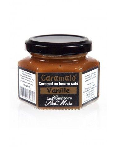 """Caramel au beurre salé saveur vanille """"Caramalo"""" 110g"""