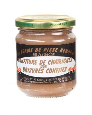 Crème de châtaignes bio aux brisures confites 250g