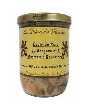 Sauté de porc au Bergues et à l'Ambrée d'Esquelbecq 750g