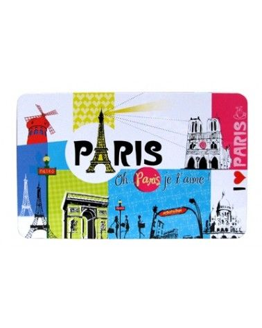 """Boîte en métal """"Paris"""" petit modèle"""