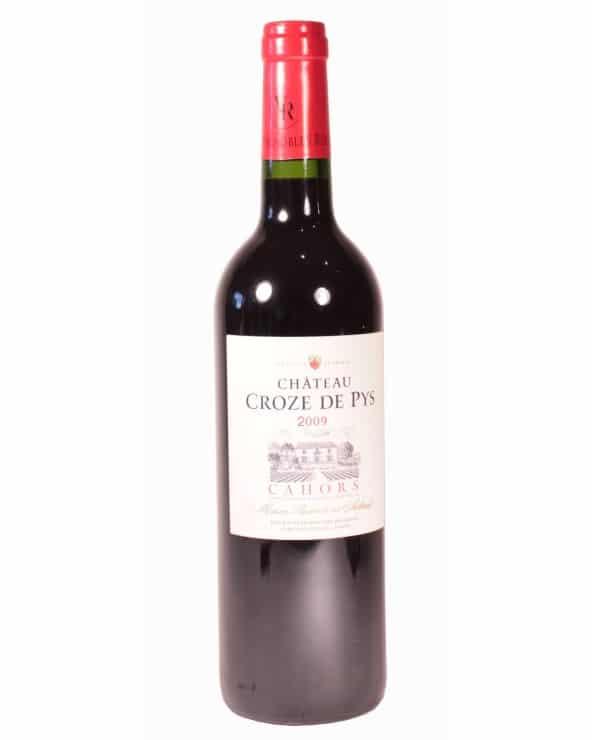 Vin rouge Cahors Château Croze de Pys 2009 75cl
