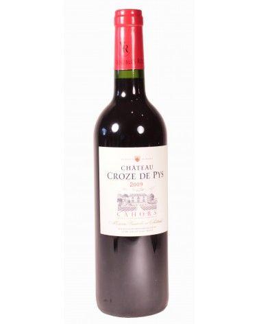 Vin rouge Cahors Château Croze de Pys 2010 75cl