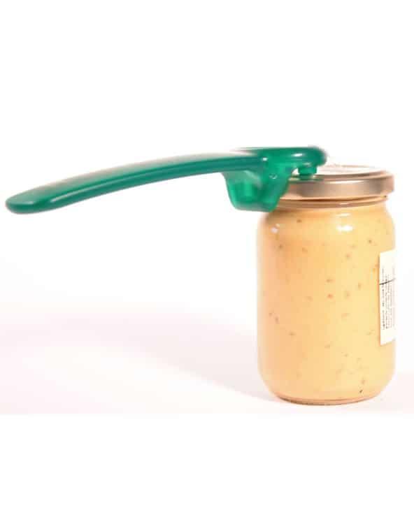 Ouvre-bocal vert