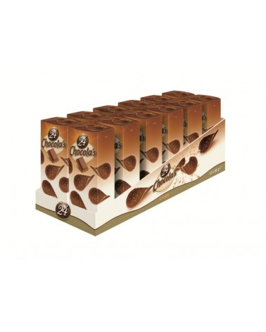 Etui de tuiles chocola's au lait 80g