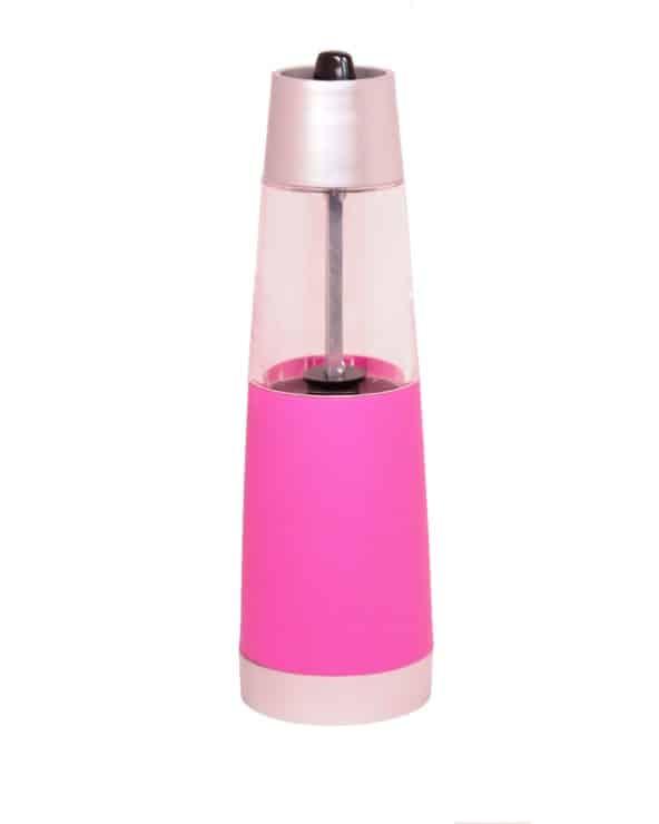 Moulin à épices gravité rose