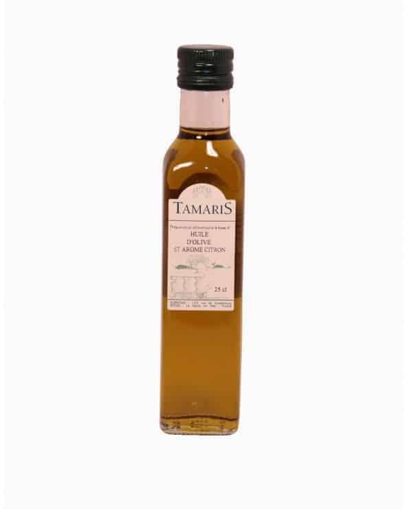 Huile d'olive arôme citron 25cl