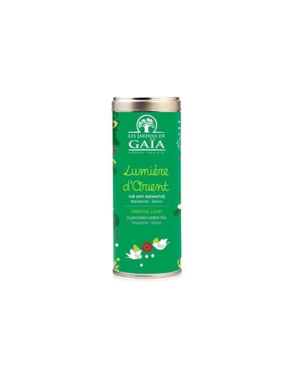 """Sachet de thé """"Lumière d'Orient"""" aromatisé 100g"""