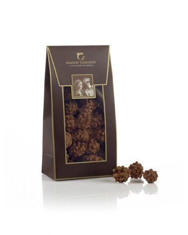 Cacaotines au chocolat, amandes et noisettes 150g