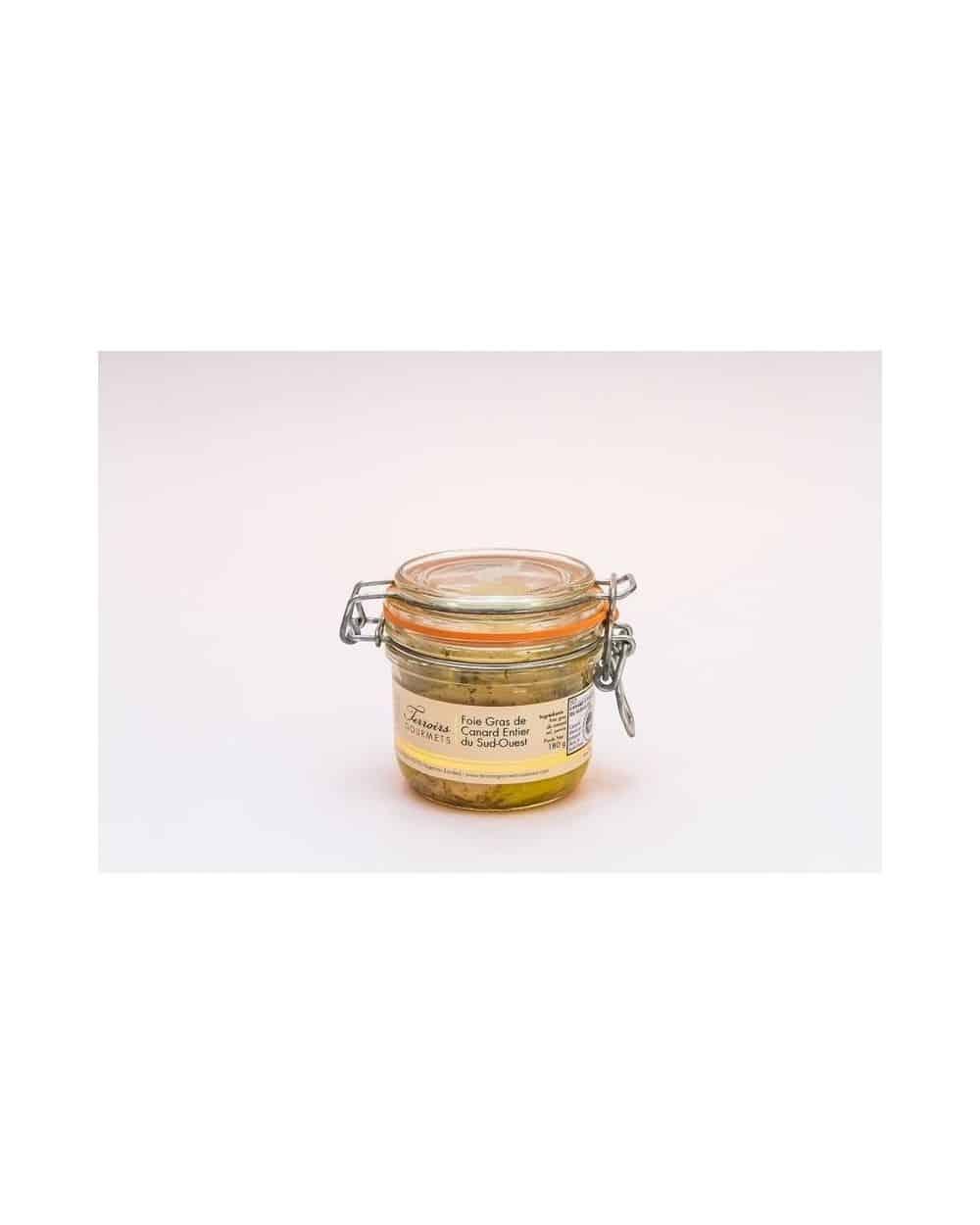 Foie gras de canard entier du Sud-Ouest TG 125g