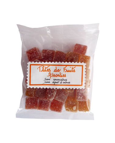 Sachet de Pâte de Fruits 100g