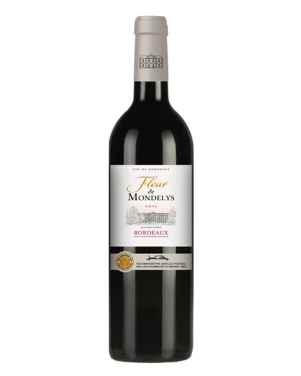 Fleur de Mondelys Bordeaux rouge 75cl