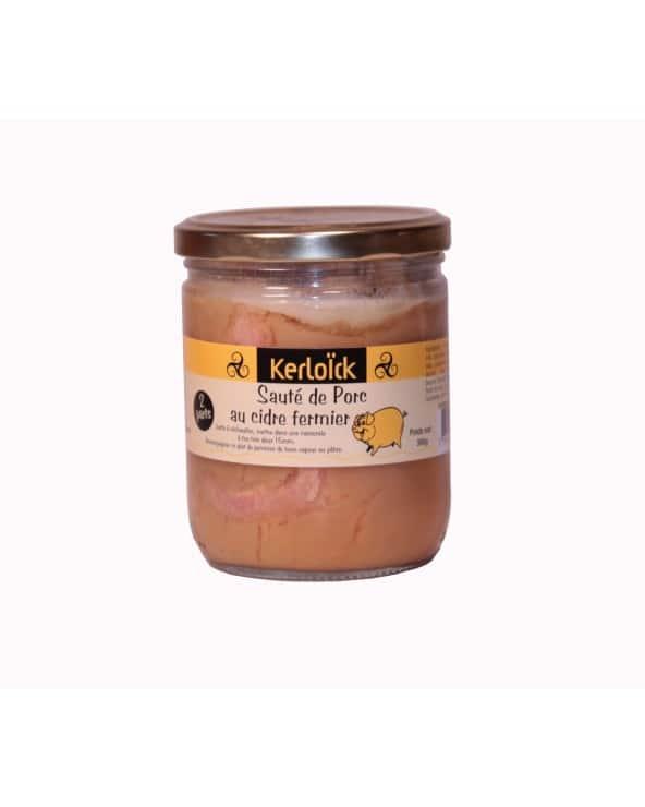 Sauté de porc au cidre fermier 400g ( 2 personnes)