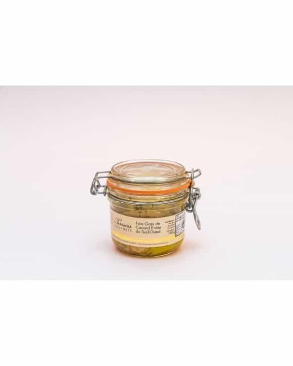 Foie gras de canard entier du Sud-Ouest IGP TG 180g