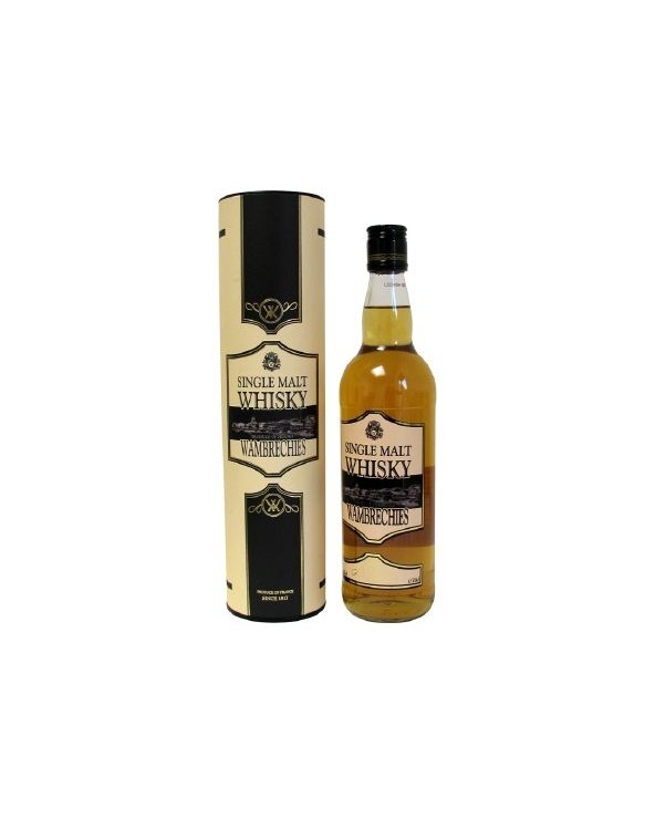 Whisky Wambrechies single malt 70cl