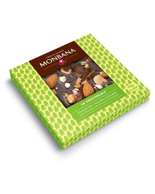"""Tablette chocolat noir """"La Provençale"""" 90g"""