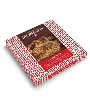 """Tablette chocolat au lait """"L'Alsacienne"""" 80g"""