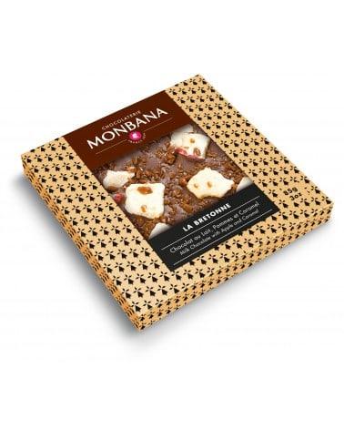 """Tablette chocolat au lait """"La Bretonne"""" 85g"""