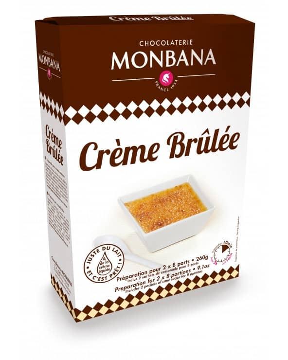 Préparation pour Crème Brûlée 260g