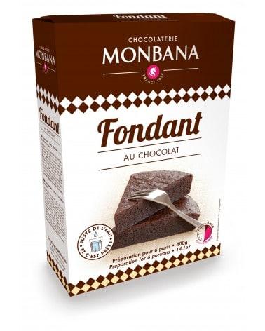 Préparation pour Fondant au Chocolat 400g