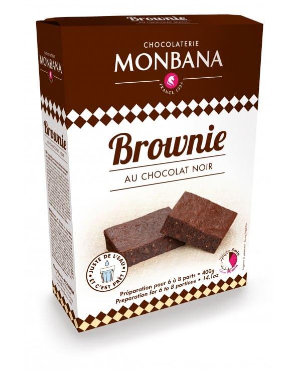 Préparation pour Brownies au Chocolat noir 400g