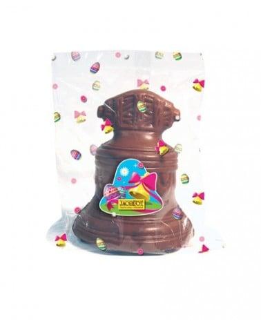 Cloche de Pâques en chocolat au lait 125g
